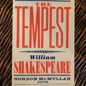The Tempest Shakespeare Book